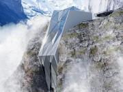 Du lịch - Thót tim, khách sạn cheo leo trên vách núi dựng đứng