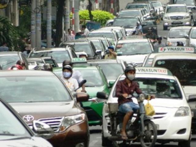 TPHCM: Thu phí ô tô vào trung tâm từ 30.000 đến 50.000 đồng?