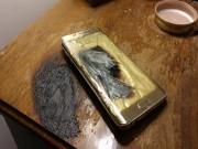 "Samsung Galaxy S6 Edge tiếp tục  "" bén lửa """