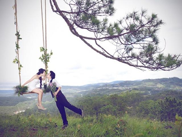 """3 địa điểm chụp ảnh cưới được các đôi trẻ """"săn lùng"""" ở Đà Lạt"""