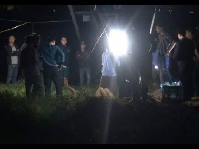 Bí ẩn quanh vụ xác nam thanh niên lõa thể ngoài đồng
