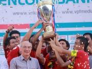 Bóng đá Việt Nam - Bóng đá TP.HCM có bị đổi màu vì tiền?
