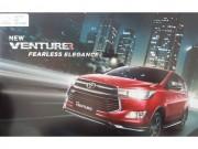 Toyota Innova sắp có thêm bản hạng sang Venturer