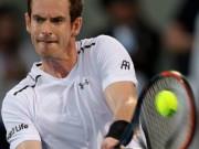 "Murray - Goffin:  "" Ngã ngựa ""  bất ngờ (BK Mubadala World Tennis Championships)"