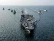 """Thế giới - Bị tàu sân bay Mỹ áp sát, Triều Tiên dọa """"hủy diệt hoàn toàn"""""""