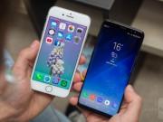 Apple bị soán ngôi  vua thiết kế  smartphone vì iPhone 8