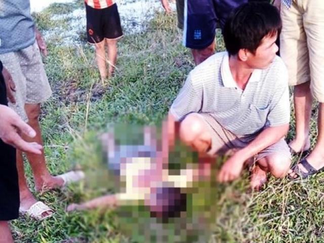Ra ruộng rửa chân, 2 cháu bé bị đuối nước tử vong