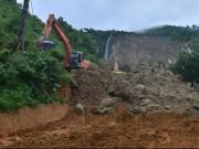 Vụ sạt lở ở Hòa Bình: Tìm thấy hai nạn nhân cuối cùng dưới tảng đá lớn