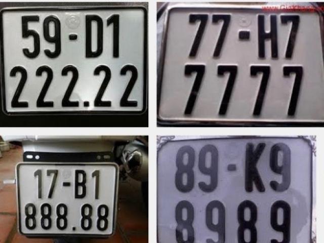"""Cục CSGT giải thích thế nào là """"biển số xe đẹp""""? - 2"""