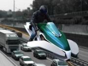 Tài chính - Bất động sản - Nghề cảnh sát ở Dubai: Lái mô tô bay độc nhất vô nhị tuần tra trên phố