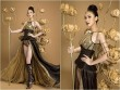 Trang phục truyền thống ngắn như đồ bơi của mỹ nữ Việt tại Hoa hậu Trái đất