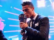 """Ronaldo hay nhất: Báo chí kính nể tôn là  """" Vua """" , Messi - Ronaldo không bầu cho nhau"""