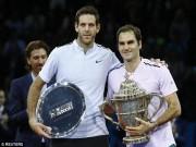 Federer ngạo nghễ đăng quang, Del Potro tâm phục khẩu phục