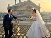 """Thời trang - """"Mỹ nữ Vũng Tàu đi xe 70 tỷ"""" tung hình cưới như cổ tích bên đại gia"""