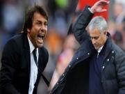 """MU đấu Chelsea:  """" Kẻ phản bội """"  Mourinho quyết đá bay ghế Conte"""