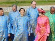 """Thế giới - Đằng sau những trang phục lãnh đạo thế giới """"diện"""" tại các kỳ APEC"""