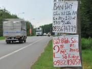 """Tài chính - Bất động sản - Xung quanh sân bay Long Thành: Bán bánh mỳ, xe ôm cũng làm """"cò đất"""""""