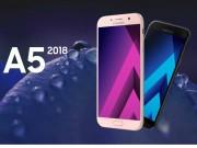 Dế sắp ra lò - Samsung Galaxy A5 (2018) sẽ được trang bị màn hình vô cực