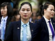 """Tin tức trong ngày - Ngắm những """"bóng hồng"""" phục vụ tại APEC"""