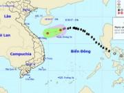 Bão số 13 suy yếu thành áp thấp nhiệt đới khi đến Hoàng Sa