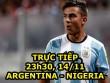 Chi tiết Argentina - Nigeria: Những nỗ lực vô vọng (KT)