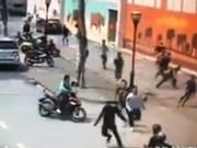 An ninh Xã hội - Cảnh sát nổ súng bắt băng trộm xe máy như phim hành động