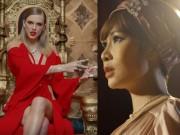 """Uyên Linh gọi Taylor Swift là  """" con rắn hao trai """""""