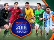 """Bốc thăm VCK World Cup 2018: Hồi hộp đợi """"bảng tử thần"""""""