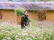 """""""Phát cuồng"""" vẻ đẹp hoa tam giác mạch bung nở trên sườn núi đá Hà Giang"""