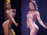 Thể thao - Hoa hậu thể hình bikini Hàn Quốc hóa thân thành cua-rơ xe đạp