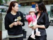 Phan Như Thảo đưa con gái ra Bắc hưởng cái lạnh bên bạn thân Ngọc Thạch