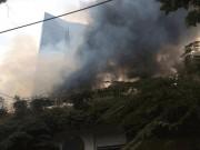 Tin tức trong ngày - HN: Cháy lớn gần tòa nhà Lotte, quân đội được huy động