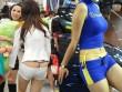 Kiểu mặc hớ hênh của con gái Trung Quốc gây xôn xao