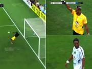 """Sững sờ: Tuyệt tác cứu thua  """" bọ cạp """"  tái hiện, Ronaldinho chết lặng"""