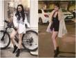 Các nữ DJ Việt lăng xê thời trang áo trùm quần ra phố