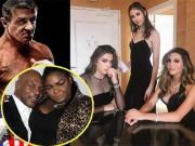 "Ái nữ của  "" 2 vua boxing "" , Mike Tyson - Rocky Balboa: Núi cao  &  vực thẳm"