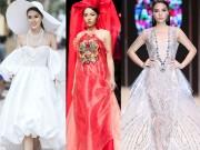 Thời trang - Hoa hậu Kỳ Duyên: Ngôi sao đường băng đắt show nhất năm 2017?