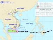 Bản tin bão 23h30: Bão Tembin sẽ  sức tàn lực kiệt  khi tới Cà Mau