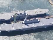 Thế giới - Nhật Bản biến tàu chiến thành tàu sân bay, TQ giật mình?