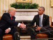 """Vì sao Obama nghỉ hưu vẫn  """" thắng """"  Tổng thống Trump?"""