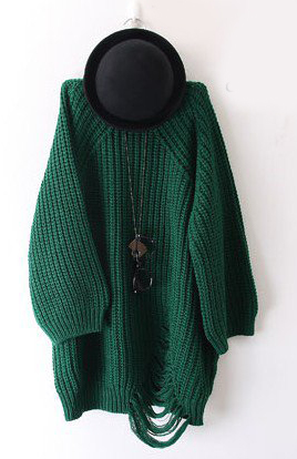 Thời trang ngày lạnh với áo len dáng dài - 2