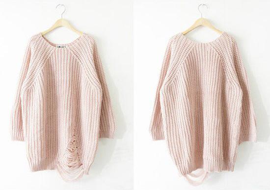 Thời trang ngày lạnh với áo len dáng dài - 3