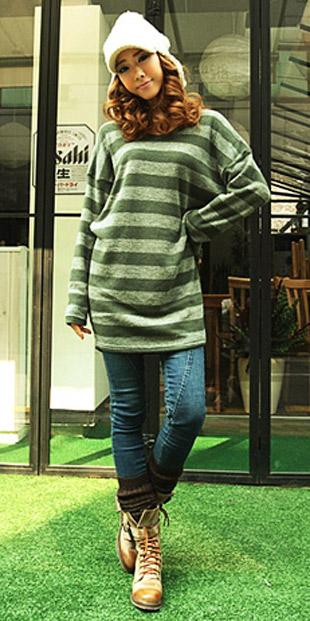 Thời trang ngày lạnh với áo len dáng dài - 11