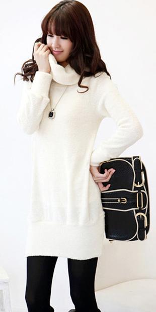 Thời trang ngày lạnh với áo len dáng dài - 13