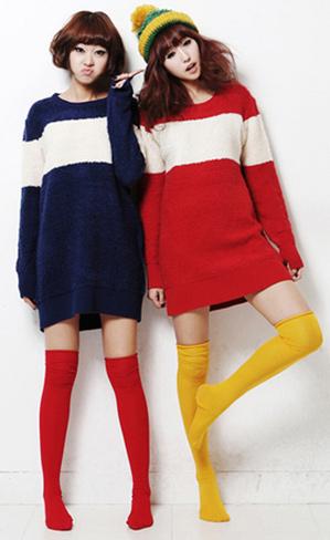 Thời trang ngày lạnh với áo len dáng dài - 14