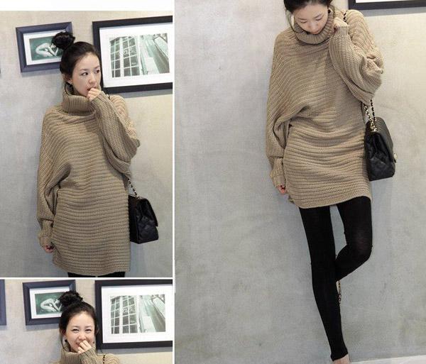 Thời trang ngày lạnh với áo len dáng dài - 9