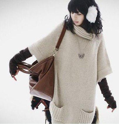 Thời trang ngày lạnh với áo len dáng dài - 15