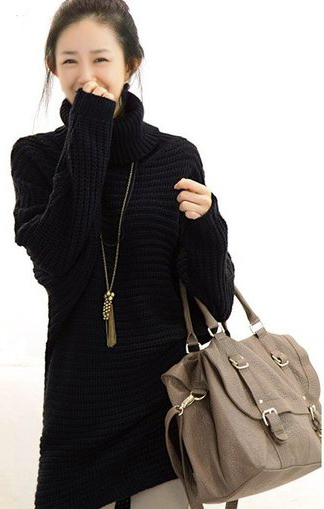 Thời trang ngày lạnh với áo len dáng dài - 19