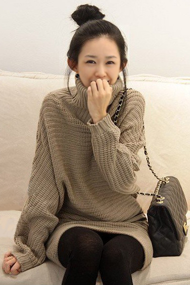 Thời trang ngày lạnh với áo len dáng dài - 18