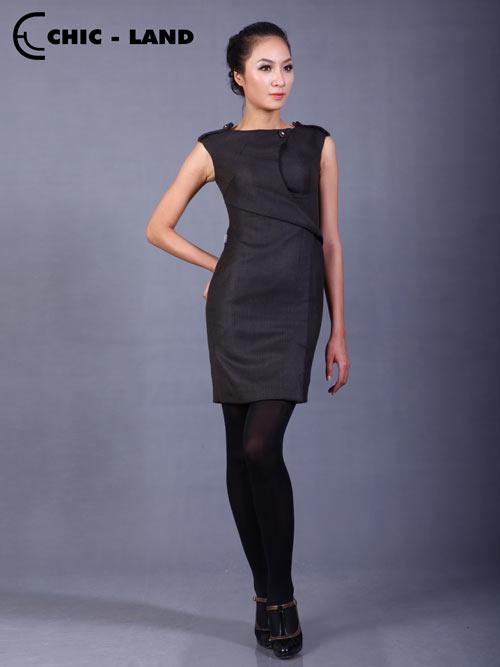 Những mẫu váy đầm lý tưởng cho mùa đông - 5